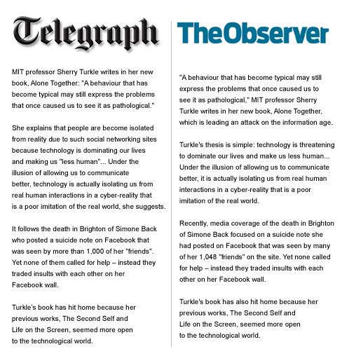 Telegraph-v-Observer