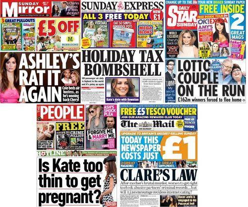 Sunday-Tabloids