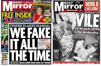 Mirror-fakes