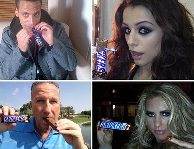 Snickers-celebrities