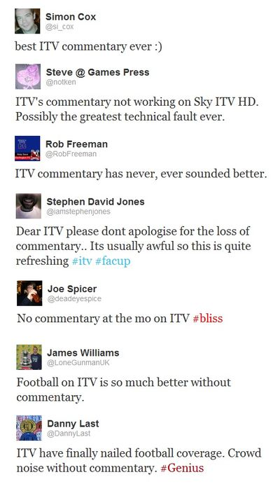 ITV-commentary-tweets