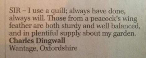 Telegraph-letter
