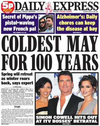 Express-coldest-may