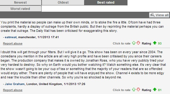 Mail-top-comments