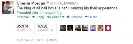 Charlie-Morgan-Tweet