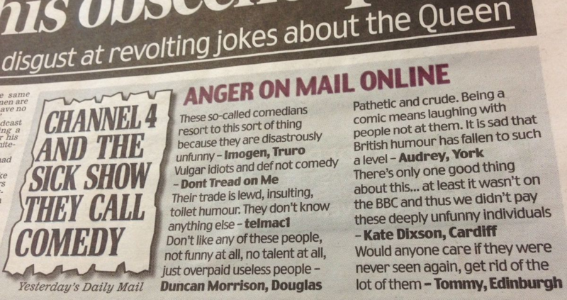 Mail-comments