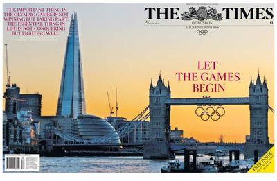 TheTimes-LetTheGamesbegin